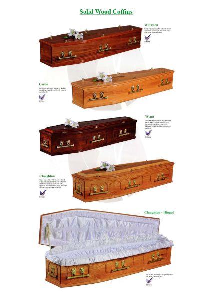 Solid Wood Coffins
